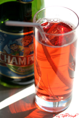 Faux kir royal