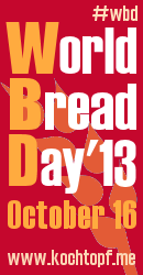 Worlkd Bread Day 2013